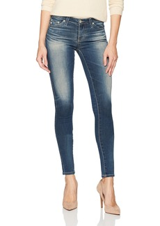 AG Adriano Goldschmied Women's The Legging Super Skinny Destructed Jean 12 Years-Abide