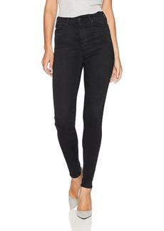 AG Adriano Goldschmied Women's The Mila High Rise Full Length Skinny Jean 3 Years-Obsidian