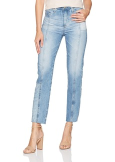 AG Adriano Goldschmied Women's the Phoebe-Repurposed Vintage High Rise Jean 18 Years-Vaulted