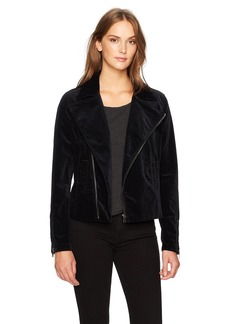 AG Adriano Goldschmied Women's The Quincy Biker Jacket  L