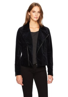 AG Adriano Goldschmied Women's The Quincy Biker Jacket  S