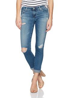 AG Adriano Goldschmied Women's The Stilt Roll up Jean
