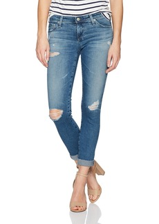 AG Adriano Goldschmied Women's The Stilt Roll Up Jean