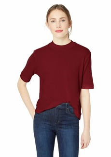 AG Adriano Goldschmied Women's Yoni Thermal TEE TANNIC red