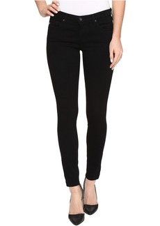AG Adriano Goldschmied Zip-Up Leggings Ankle in Super Black
