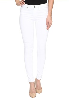 AG Adriano Goldschmied Zip-Up Leggings Ankle in White