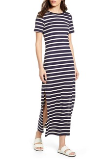 AG Adriano Goldschmied AG Alana Stripe Maxi T-Shirt Dress