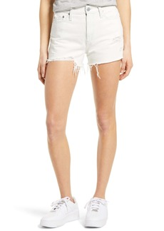 AG Adriano Goldschmied AG Alexxis High Waist Distressed Denim Shorts (Unforgettable)