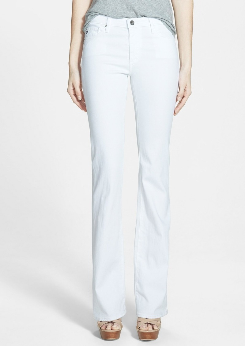 AG Adriano Goldschmied AG Angel Flare Pants (White)