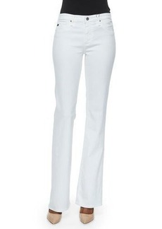 AG Angel Mid-Rise Boot-Cut Jeans
