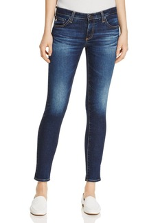 AG Ankle Denim Leggings in 4 Year Rapids