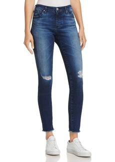 AG Ankle Denim Leggings in Indigo Shore