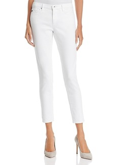Ag Ankle Denim Leggings in White - 100% Exclusive