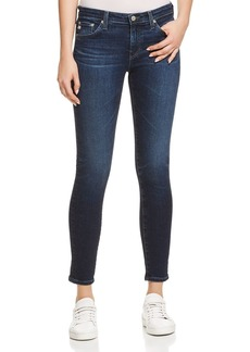 AG Ankle Denim Leggings Jeans in 4 Years Deep Willows