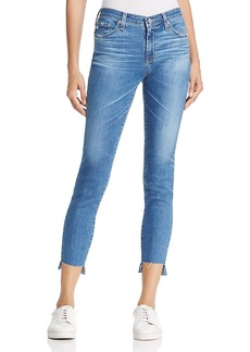 Ag Ankle Step-Hem Legging Jeans in 14 Years Blue Nile