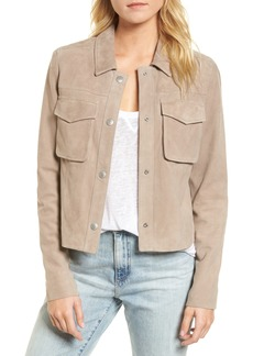 AG Adriano Goldschmied AG Ari Suede Trucker Jacket