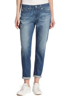 AG Beau Rolled Slouchy Skinny Jeans