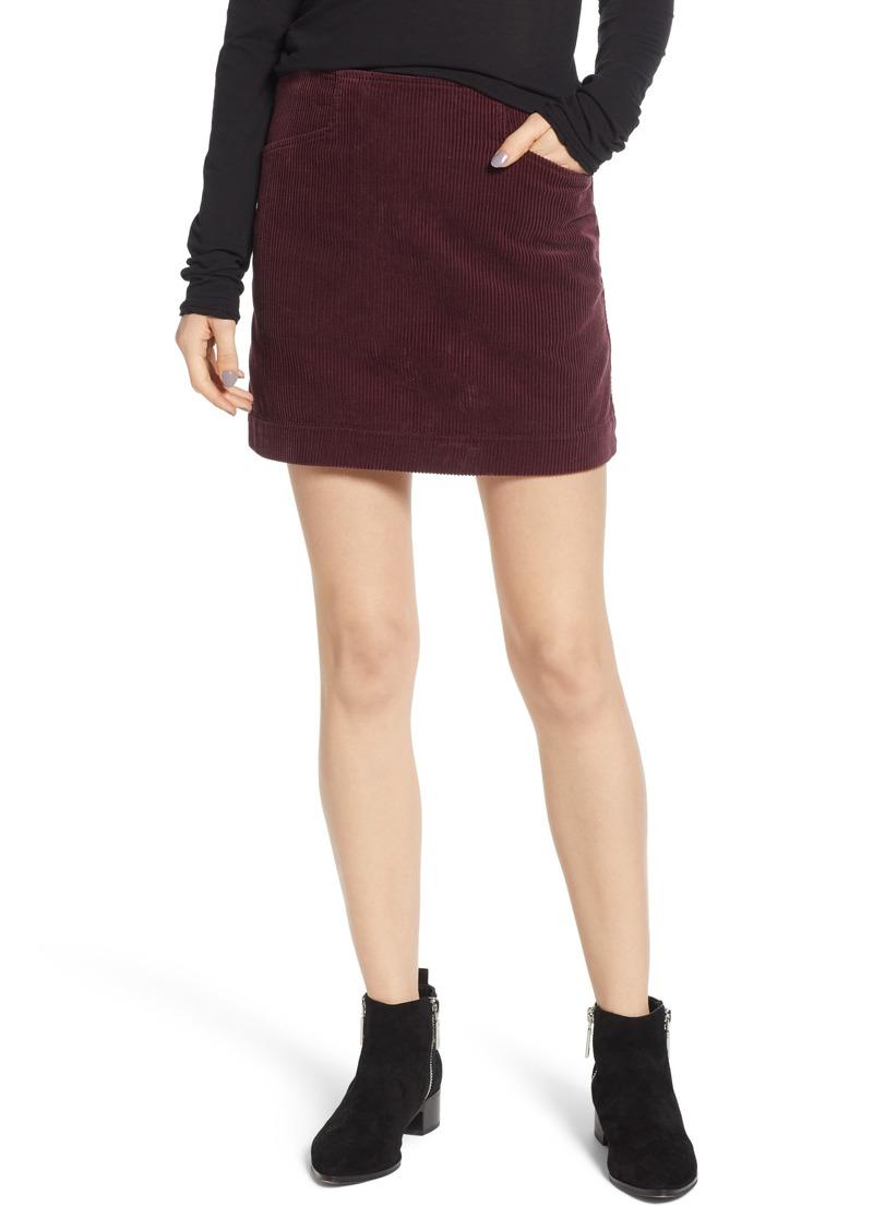 f54517ea5d AG Adriano Goldschmied AG Bernadette Corduroy Miniskirt | Skirts