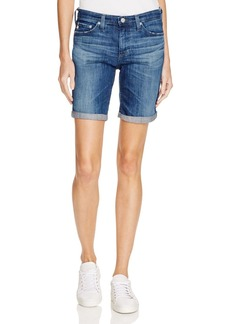 AG Brooke Denim Bermuda Short in 9 Years Leap