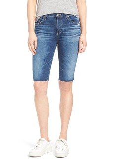 AG Brooke Denim Bermuda Shorts (14 Years Ablaze)