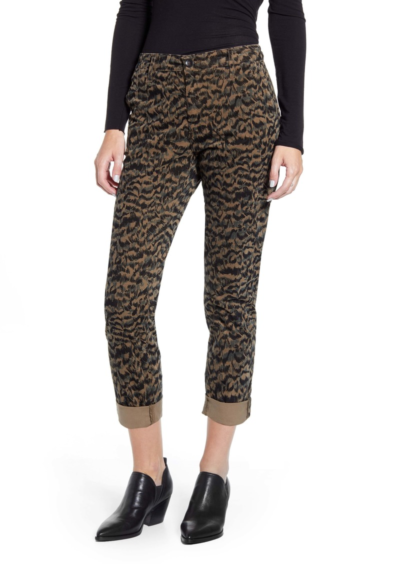 AG Adriano Goldschmied AG Caden Print Ankle Twill Trousers