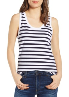 AG Adriano Goldschmied AG Cambria Stripe Fitted Tank