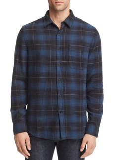 AG Adriano Goldschmied AG Colton Plaid Regular Fit Flannel Shirt