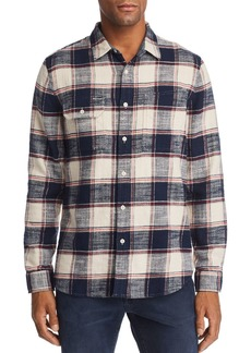 AG Adriano Goldschmied AG Colton Plaid Regular Fit Work Shirt