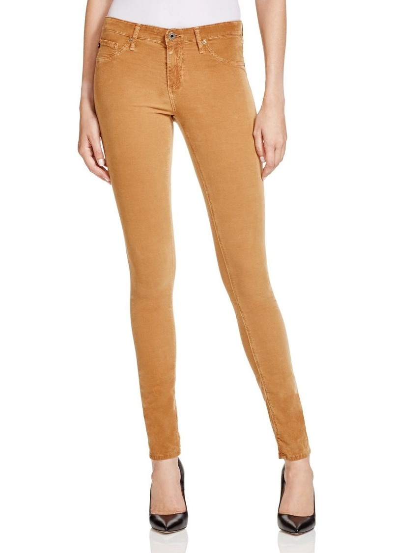 AG Adriano Goldschmied AG Corduroy Legging Jeans in Golden Brown
