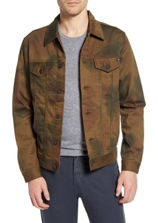 AG Adriano Goldschmied AG Dart Watercolor Camo Denim Jacket