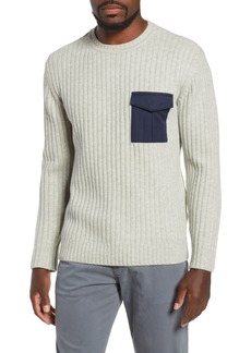 AG Adriano Goldschmied AG Delta Slim Fit Wool Blend Sweater