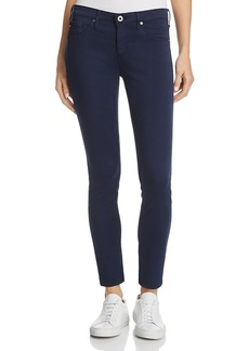 Ag Denim Ankle Leggings in Blue Night