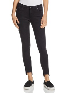 AG Denim Ankle Leggings in Rustic Black