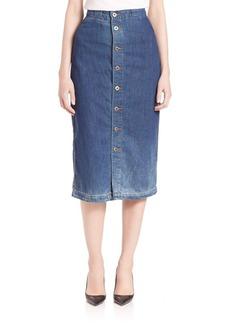 AG Thea Calf Length Skirt