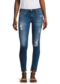AG Adriano Goldschmied AG Distressed Step Hem Legging Ankle Jeans