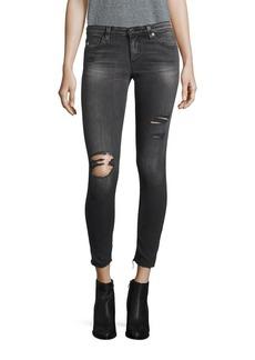 AG Distressed Super Skinny Legging Ankle Jeans