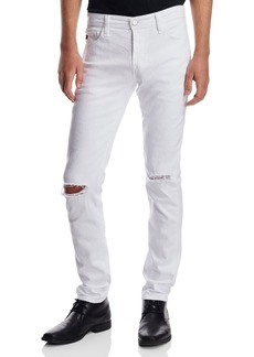 AG Adriano Goldschmied AG Dylan Distressed Jeans in White Smoke