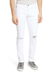 AG Adriano Goldschmied AG Dylan Extra Slim Fit Ripped Jeans (White Smoke)