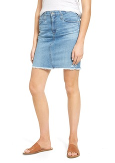 AG Erin Denim Miniskirt (20 Years Moonstruck)