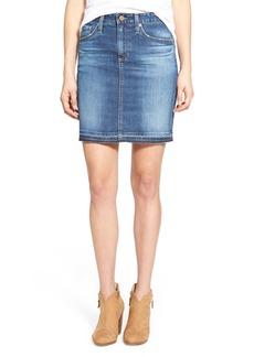 AG 'Erin' Denim Skirt