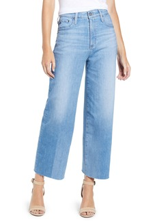 AG Adriano Goldschmied AG Etta Crop Wide Leg Jeans (Blue Shadows)
