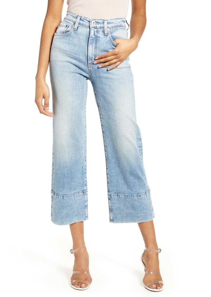AG Adriano Goldschmied AG Etta High Waist Crop Wide Leg Jeans (23 Years Reclaim)
