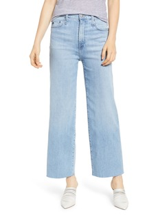 AG Adriano Goldschmied AG Etta High Waist Crop Wide Leg Jeans (Blue Oasis)