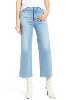 AG Adriano Goldschmied AG Etta High Waist Crop Wide Leg Jeans (Sunlight Blue)