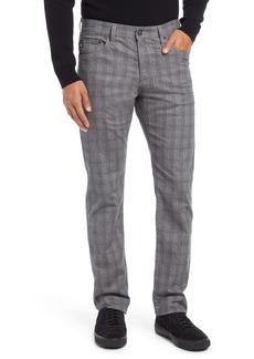 AG Adriano Goldschmied AG Everett Slim Fit Straight Leg Print Pants