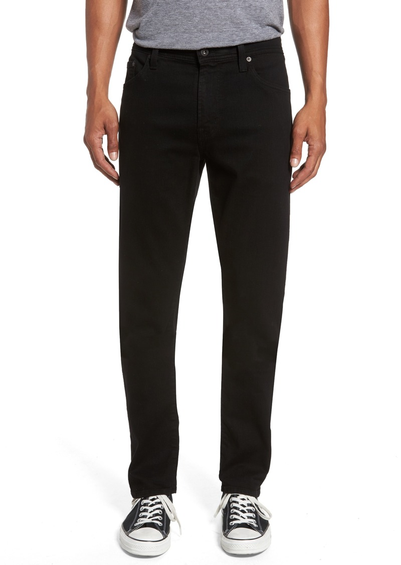 AG Adriano Goldschmied AG Everett Slim Straight Fit Jeans (Black Soot)