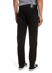 AG Adriano Goldschmied AG Everett Slim Straight Leg Jeans (Black Soot)