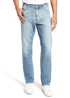 AG Adriano Goldschmied AG Everett Slim Straight Fit Jeans (Bright Sky)