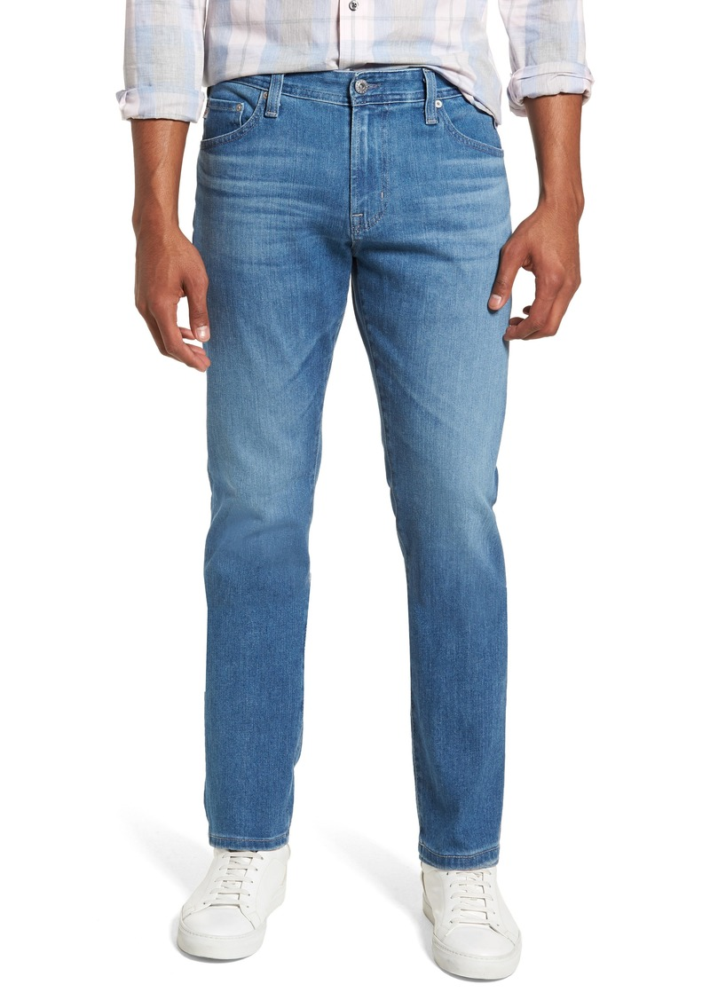 AG Adriano Goldschmied AG Everett Slim Straight Leg Jeans (Sea Wave)