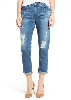 AG Ex-Boyfriend Crop Slim Jeans (12 Years Aroma)